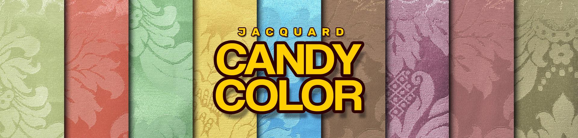 Candy Color - Enrolado Tecidos