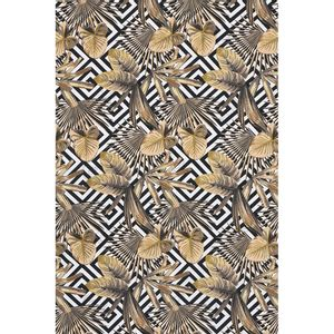 tecido-jacquard-estampado-tropical-bege-geometrico