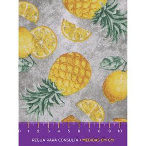 tecido-tricoline-frutas-abacaxi
