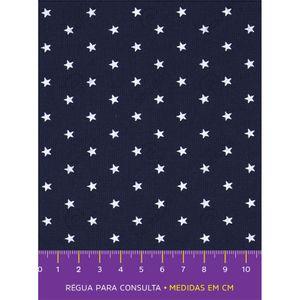 tecido-tricoline-estrela-branca-fundo-marinho