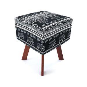 puff-quadrado-em-jacquard-preto-e-branco-indiano-fio-tinto