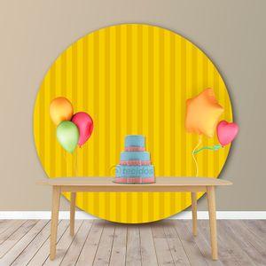 painel-rendondo-jacquard-listrado-amarelo-ouro