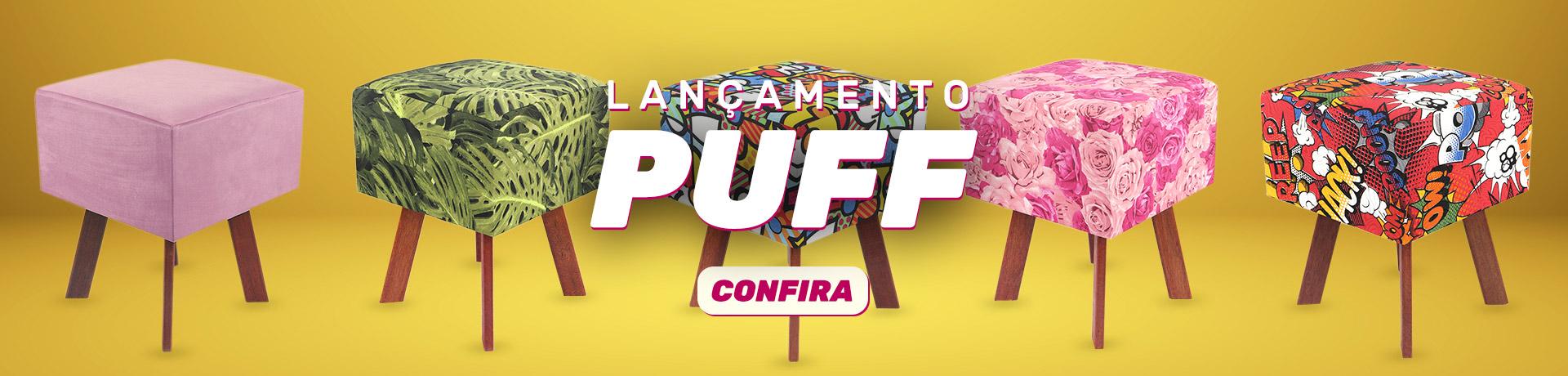Puff - Enrolado Tecidos
