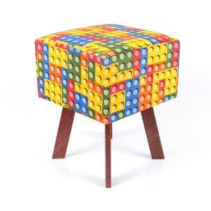puff-em-tecido-jacquard-estampado-lego