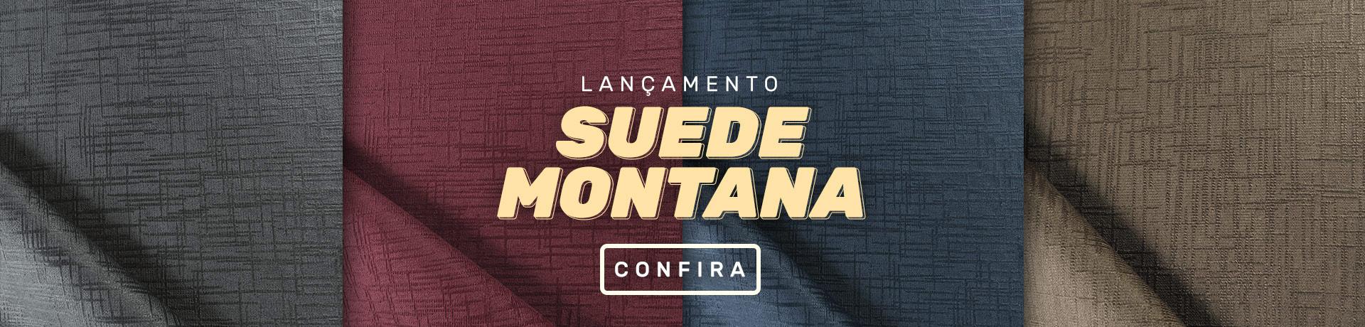 Suede Montana - Enrolado Tecidos