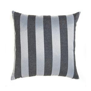 almofada-tecido-jacquard-preto-acinzentado-e-prata-listrado-tradicional
