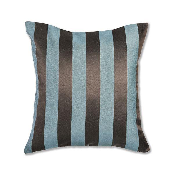 almofada-tecido-jacquard-marrom-e-turquesa-listrado-tradicional