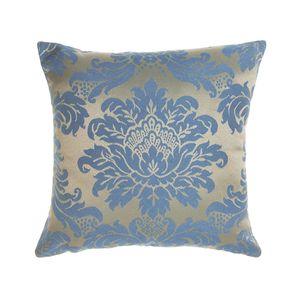 almofada-tecido-jacquard-azul-e-dourado-medalhao-tradicional
