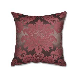almofada-tecido-jacquard-marrom-e-vermelho-medalhao-tradicional