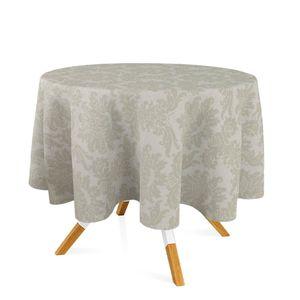 toalha-redonda-tecido-jacquard-bege-champagne-medalhao-tradicional
