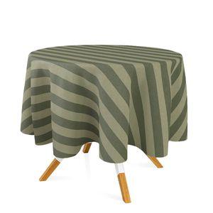 toalha-redonda-tecido-jacquard-verde-musgo-listrado-tradicional