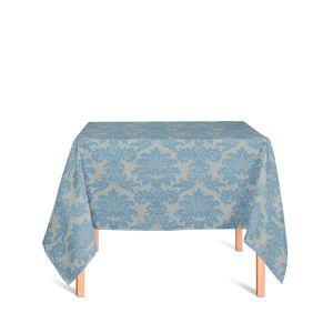 toalha-quadrada-tecido-jacquard-azul-e-dourado-medalhao-tradicional