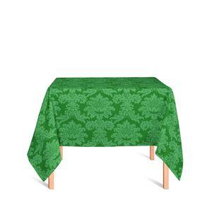 toalha-quadrada-tecido-jacquard-verde-medalhao-tradicional