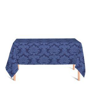 toalha-retangular-tecido-jacquard-azul-marinho-medalhao-tradicional