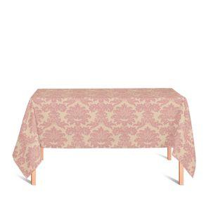 toalha-retangular-tecido-jacquard-rosa-envelhecido-e-dourado-medalhao-tradicional