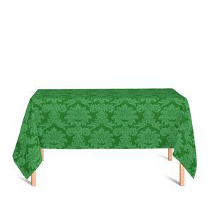 toalha-retangular-tecido-jacquard-verde-medalhao-tradicional