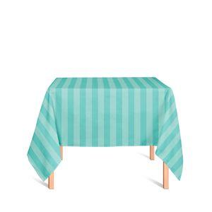 Toalha-de-Mesa-em-Tecido-Jacquard-Azul-Tiffany-Listrado-Tradicional