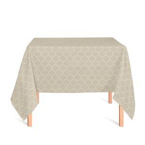 toalha-quadrada-tecido-jacquard-bege-geometrico-tradicional