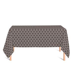 toalha-retangular-tecido-jacquard-cinza-e-cru-geometrico-tradicional
