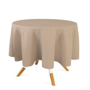 toalha-redonda-tecido-jacquard-bege-marfim-liso