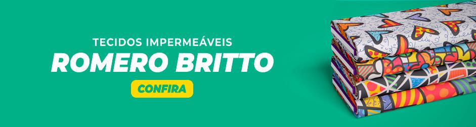 Romero Britto - Enrolado Tecidos