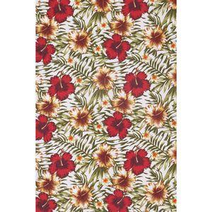 tecido-jacquard-estampado-hibisco-vermelho-fundo-branco-140m-de-largura