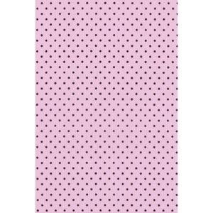 tecido-tricoline-estampado-poa-marrom-fundo-rosa-150m-de-largura
