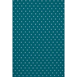 tecido-tricoline-estampado-estrelinha-fundo-azul-petroleo-150m-de-largura