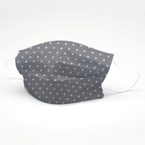 mascara-tricoline-estampado-estrela-fundo-cinza