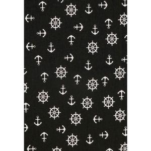tecido-tricoline-estampado-enrolado-ancora-preta