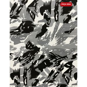 tricoline-camuflado-cinza-50m