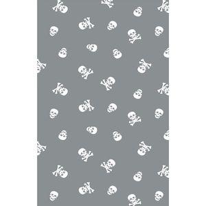 tecido-tricoline-caveira-branca-fundo-cinza