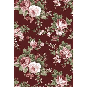 tecido-tricoline-floral-rosa-fundo-marsala