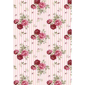 tecido-tricoline-estampado-floral-rosa-e-marsala-fundo-listrado-rosa