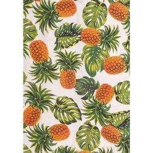 tecido-jacquard-estampado-abacaxi-fundo-branco