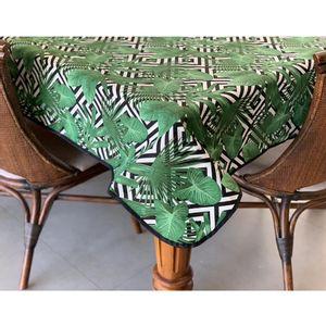 toalha-jacquard-tropical-folhagem-verde