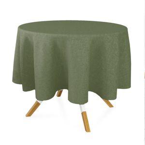 toalha-redonda-oxford-verde-musgo