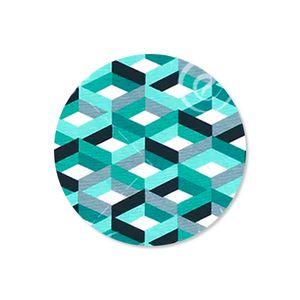 capa-para-sousplat-em-tecido-impermeavel-acqua-linea-geometric-esmeralda