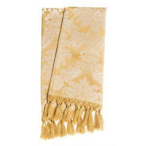manta-tecido-jacquard-dourado-medalhao-tradicional