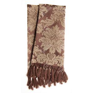 manta-tecido-jacquard-marrom-e-bege-medalhao-tradicional