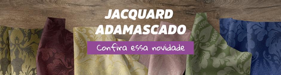 Jacquard Adamascado - Enrolado Tecidos