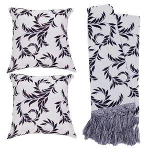 kit-manta-folhas-preto-e-branco
