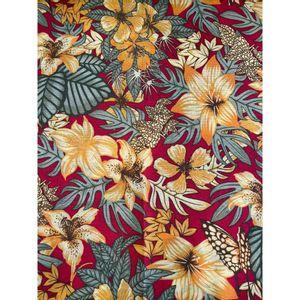 tecido-gorgurinho-floral-laranja-fundo-vermelho-150m-de-largura